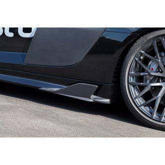 Capristo Carbon Seitenfinnen fuer Audi R8 V10