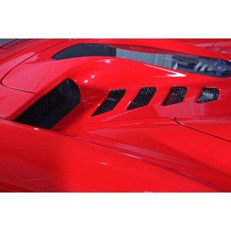 Capristo Carbon Heckklappe Motorhaube für Ferrari 458 Spider