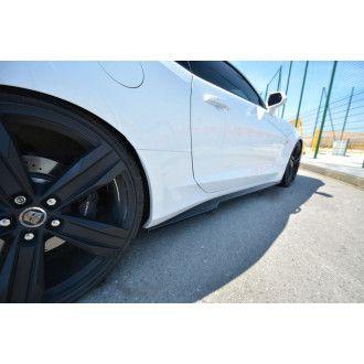 Maxton Design Seitenschweller für Chevrolet Camaro MK6 Coupe schwarz hochglanz