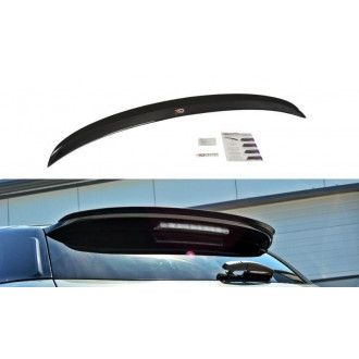Maxton Design Spoiler für Citroen DS5 schwarz strukturiert unbearbeitet