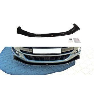 Maxton Design Frontlippe für Citroen DS5 Facelift schwarz strukturiert unbearbeitet