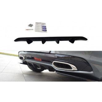 Maxton Design Diffusor für Citroen DS5 Facelift schwarz hochglanz