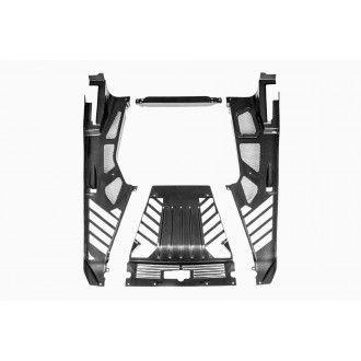Eventuri Carbon Kevlar Motorabdeckung für Lamborghini Huracan - ersetzt OEM Plastik Version