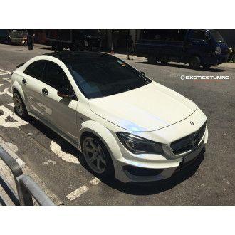 MTC Carbon Bodykit für Mercedes CLA C117 mit AMG-Paket