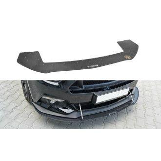 Maxton Design Racing Frontlippe für Ford Mustang MK6 schwarz plastik unverarbeitet