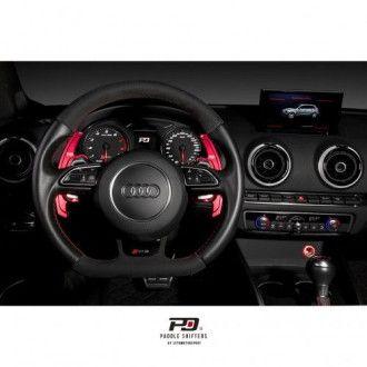 Leyo Aluminium Schaltwippen für Audi S-Tronic V2