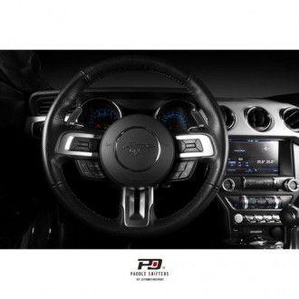 Leyo Aluminium Schaltwippen für Ford Mustang SelectShift schwarz