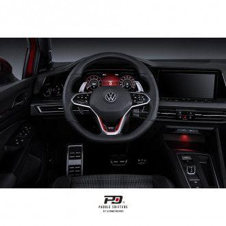 LEYO Motorsport Schaltwippen für VW Golf 8 inkl. GTI passt nicht auf R - silber