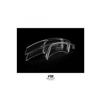LEYO transparente Schaltwippen für Audi RS3 RS4 RS5 R8 TTRS