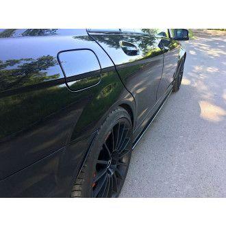 Maxton Design Seitenschweller für Mercedes C-Klasse W204 C63 AMG Facelift schwarz hochglanz