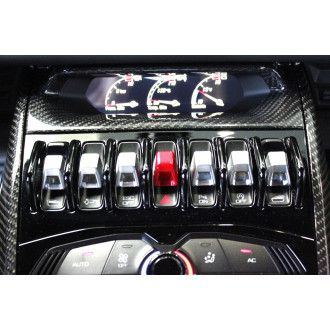 Seiler Performance Carbon Mittelkonsole für Lamborghini Huracan - oben