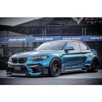 PSM Dynamic Carbon Widebody Kotflügelerweiterungen für BMW 2er F87 M2