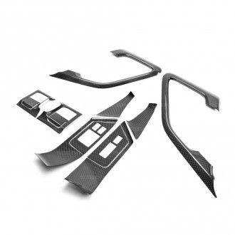 Seibon Carbon Interieur für Nissan Skyline R35 GT-R 2009 - 2014 Türverkleidungs-Set Innen 12-teilig