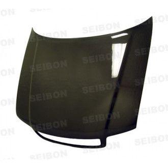 Seibon Carbon Motorhaube für AUDI A4 B5 Limousine und Touring 1996 - 2001 OE-Style