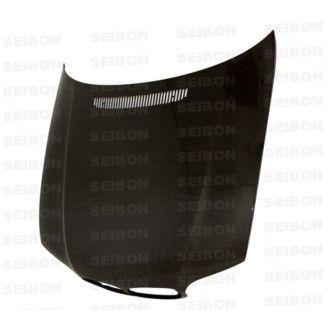 Seibon Carbon Motorhaube für BMW 3er E46 Coupé und Cabrio Facelift 2002 - 2005 OE-Style