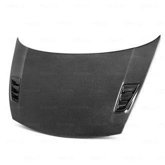 Seibon Carbon Motorhaube für Honda Civic FD1|FD3|FD2|FD5 2006 - 2010 4D JDM & Acura CSX MGII-Style