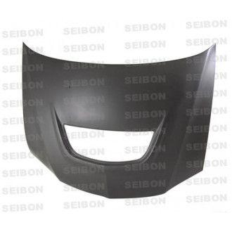 Seibon Carbon Motorhaube für Mitsubishi Lancer Evolution VII|Evolution IX 2003 - 2007 Trockencarbon OE-Style