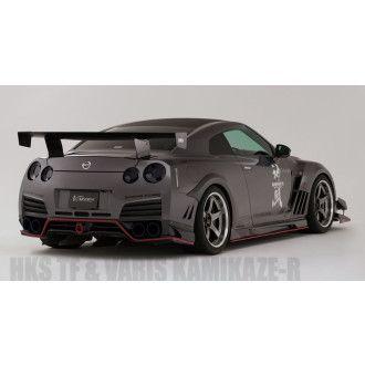 Varis Carbon Heckschürze für Nissan R35 GT-R