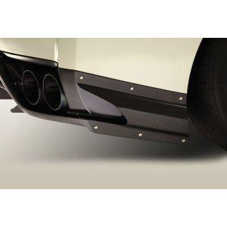 Varis Heck Zierleiste für Nissan R35 GT-R (Carbon)