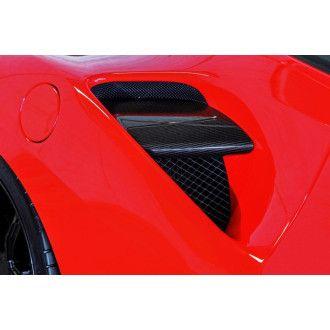 Seiler Performance Carbon Lufteinlässe für Ferrari 488 GTB