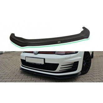 Maxton Design Frontlippe für Volkswagen Golf MK7|Golf 7 GTI schwarz hochglanz