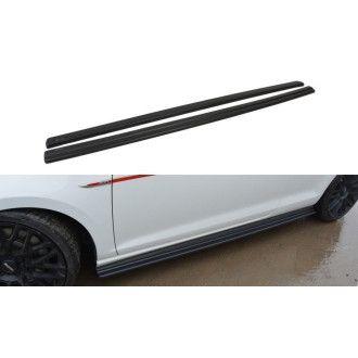 Maxton Design Seitenschweller für Volkswagen Golf MK7|Golf 7 GTI schwarz hochglanz