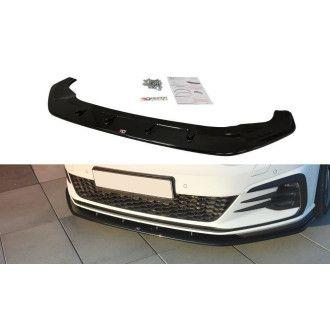 Maxton Design Frontlippe für Volkswagen Golf MK7|Golf 7 GTI Facelift schwarz hochglanz