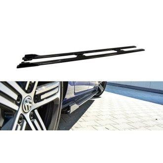 Maxton Design Seitenschweller für Volkswagen Golf MK7|Golf 7 R Facelift schwarz hochglanz