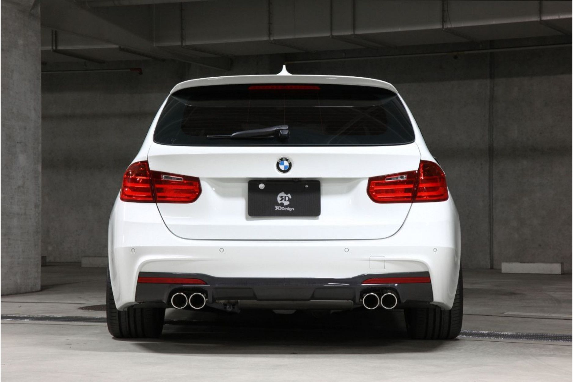 3ddesign Carbon Diffuser For Bmw 3 Series F30 F31 M Tech For Duplex Aga Buy Online At Cfd