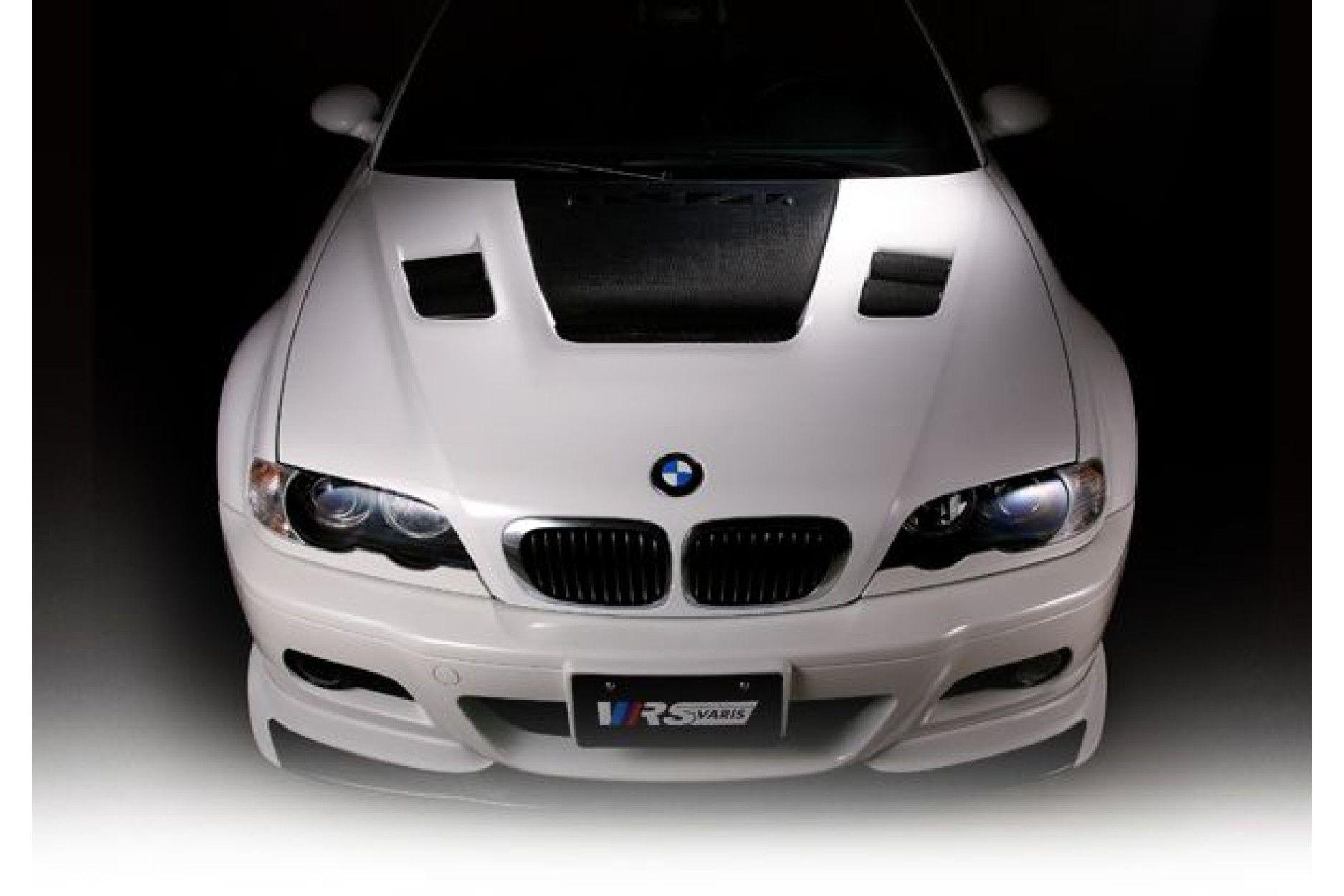 Varis Carbon Cooling Bonnet For Bmw E46 M3 Buy Online At Cfd