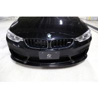 3Ddesign carbon front lip spoiler for BMW 3 Series F80 F82 M4 M3 4p