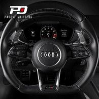 Leyo Audi S Tronic Billet Paddle Shift Extension (Black)(v4)