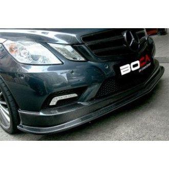 Boca carbon front lip (type 2) Mercedes Benz C207 for