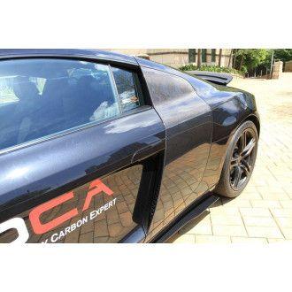 Boca carbon side panel for V8 Audi R8