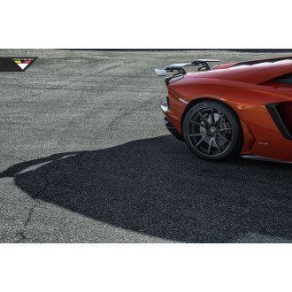 Vorsteiner carbon rear wing for Lamborghini Aventador Zaragoza Edizione