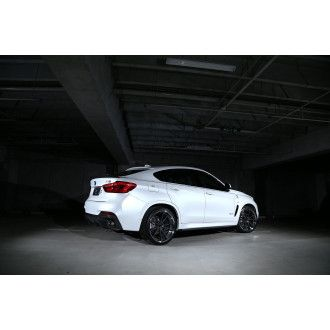 3DDesign carbon diffuser for BMW F16 X6 with M-Tech