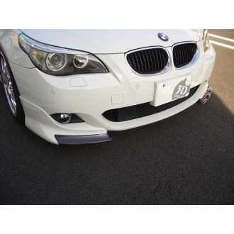 3Ddesign carbon / PUR front splitter for BMW 5 E60 with M-Tech