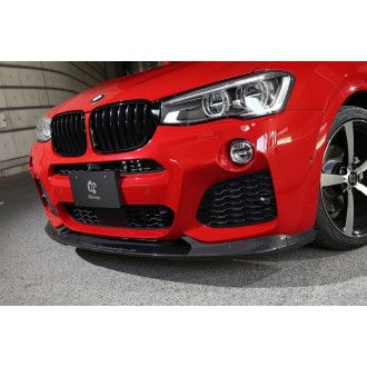 3Ddesign carbon front lip for BMW X4 F26 with M-Tech