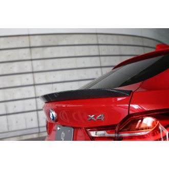 3Ddesign carbon rear spoiler for BMW X4 F26