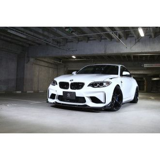 3DDesign carbon side skirts for BMW F87 M2