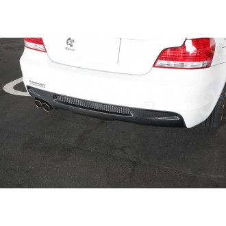 3Ddesign carbon diffuser for BMW 1 Series E82 with M-Tech