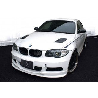 3Ddesign front lip for BMW 1 Series E82 with M-Tech