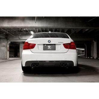 3Ddesign carbon diffuser for BMW 3 Series E90 E91 with M-Tech for duplex AGA (335i)