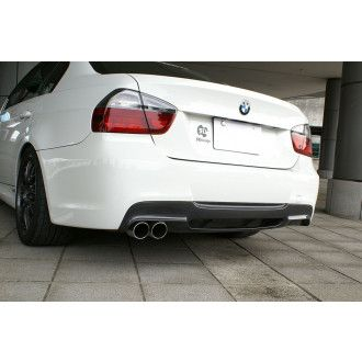 3Ddesign carbon diffuser for BMW 3 Series E90 E91 with M-Tech