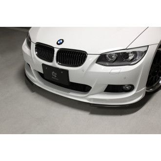 3Ddesign carbon front splitter for BMW 3 Series E92 E93 Facelift with M-Tech