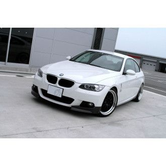 3Ddesign carbon front splitter for BMW 3 Series E92 E93 with M-Tech