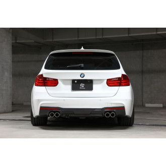 3Ddesign carbon diffuser for BMW 3 Series F30 F31 M-Tech for duplex AGA