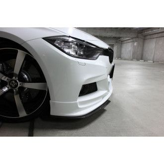 3Ddesign carbon front splitter for the BMW 3 Series F30 F31 with M-Tech