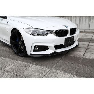 3Ddesign carbon front lip for BMW 4 Series F32 F36 with M-Tech