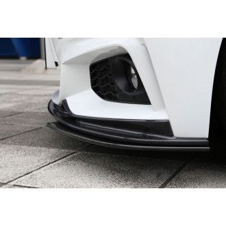 3Ddesign carbon front splitter for BMW 4 Series F32 F36 with M-Tech